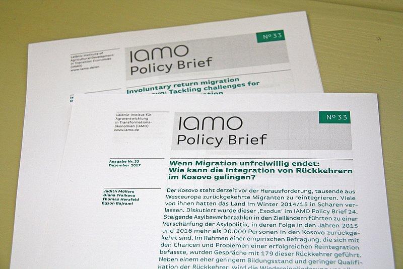 Iamo Policy Brief 33 Herausgegeben Iamo