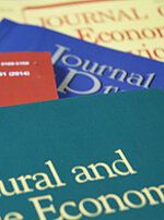 Picture of several journals